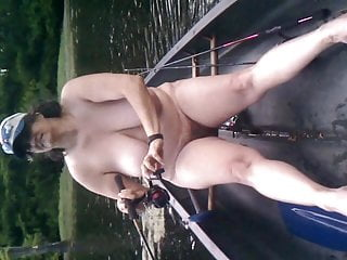 Naked fishing buddy nc Slutwife terry webb fishing naked in public 1 of 3