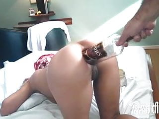 Vintage decanters and whiskey bottles - Xxl anal whiskey bottle fuck and fisting