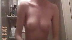 Stupod slut with nice tits caught on hidden cam repost