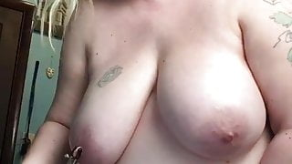 My wife teasing me at work