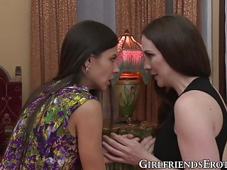 Sapphic milfs - Sapphic milf seduces gorgeous babe into passionate oral