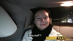 HornyTaxi Enza fucks me on camera to give to her ex