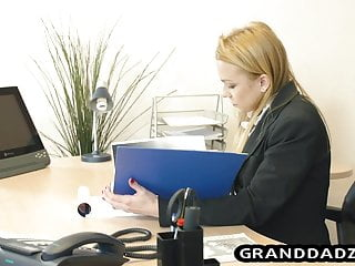 Young old foot fetish - Young boss gets her foot fetish satisfied by old employee