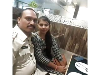 Teen police Desi girl fucked by police man