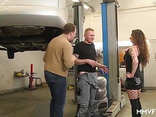 Threesome video mechanic Mmv films anal mechanics