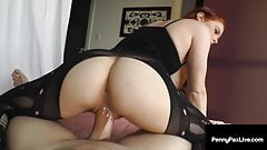 Penis Pleasing Penny Pax Milks Big Fat Cock With Warm Mouth!