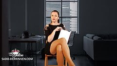 Application at Office Mistress as Nylon-,Shoe- & Foot Slave