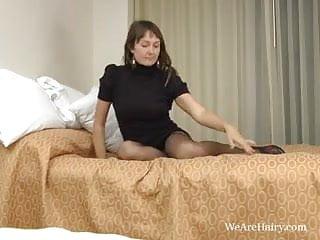 Genitals hairy woman - Hairy woman charlotte bs stocking rub down
