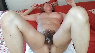 beautiful hairy mature woman who likes to get fisted and ta