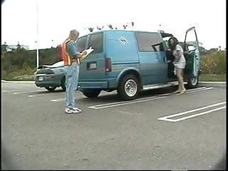 Older latinas bbw Latina sucks and mounts older road workers cock in parked van
