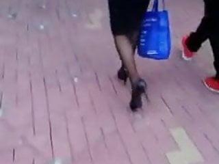 Asian stocking woman - Asian woman