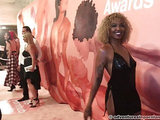 Celeb red carpet sexy Pornhub awards 2019 - red carpet part 1