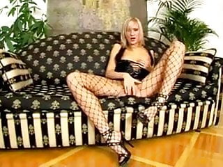 Pvc mens fetish - Blonde pvc euro girl used