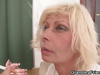 Sexy double penetration free video Sexy blonde mature double penetration