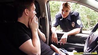 Police blowjob