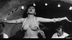 19 year old Greek topless dancer Marita Constantinou in 1959