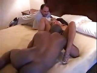 Amateur matuer cream interracial He watches his wife take a nice black cream pie