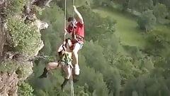nice cliff rock climbing date
