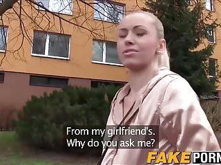 Sexy blonde secret agent Public agent picks up sexy blonde linda and fucks her good