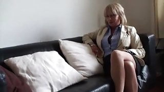 MILF Jane Bond Gets Fucked On The Couch