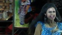 Cute black girl doing selfie and show boob