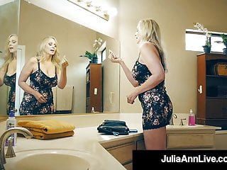 Raging cock videos Milking mommy julia ann sucks fucks raging rock hard cock