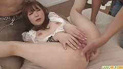 Maomi a cock sucking asian girls that gets creampied
