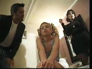 Tit punish Babysitter punished by mother...f70