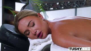 TUSHY Anal-loving Venera gets special service from masseuse