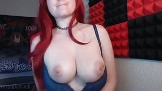 Voyeur show, boobs and big perfect ass