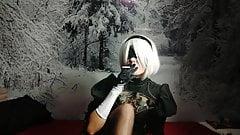 Nier Automata - 2B Smoke
