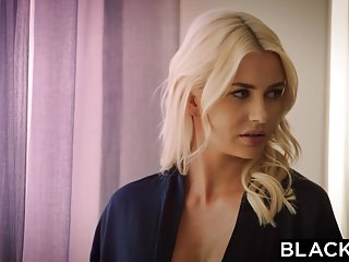 Lingerie video cllips Blacked wife gigi allens takes her first big black cock