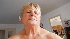 chubby grandma riding cock