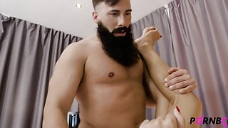 COCK ADDICTION Hot guy fucking rough muscled straight boy 4K