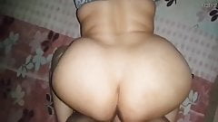 Big fat ass BBW Desi Indian aunty fucked in doggy postion