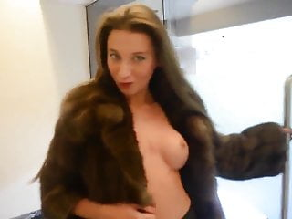 Fur breast - Julie skyhigh fur fetish part2