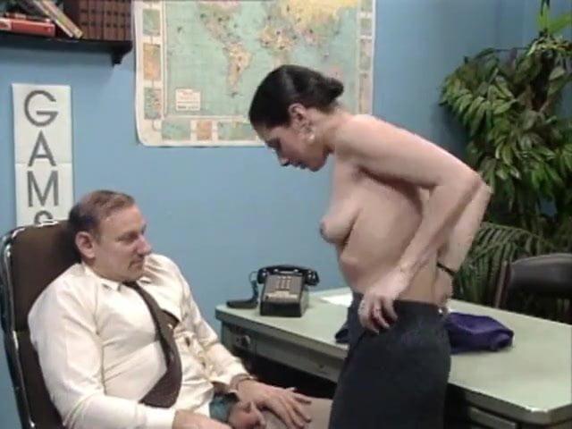job desk getting blow Man