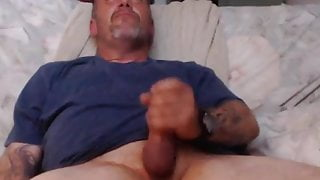 stroking it on cam again