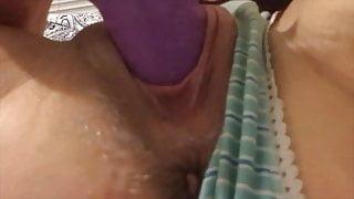 Fucking My Sexy Creamy Pierced Pussy