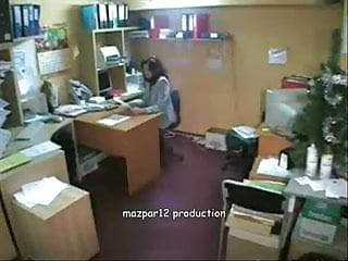 Amsub private voyeur Private office hidden cam