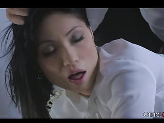 2 babes one man sex - Taking advantage of my hot asian employee