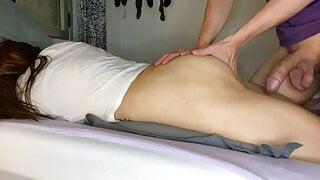 I wake up my stepsister and fuck her ASS! 4k