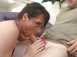 Milf brunette freeones Milf brunette green tongue anal