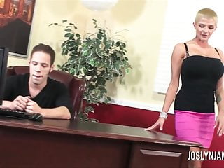 Joslyn james - milf lessons Joslyn james dominates step son to teach him a lesson
