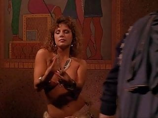 Amanda tapping topless nude - Sexy topless nude scene.