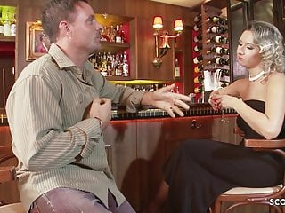 Milf cougar bar Milf daria glower seduce to deep anal sex in public bar