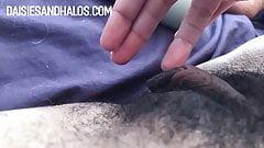 Daisy's Hairy, Lippy Pussy Cums!