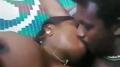Malayalam Couple Boob Sucking And Kissing at Home