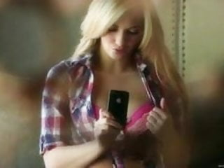 Gay iphone ranking Hot blonde masturbate n films with own iphone