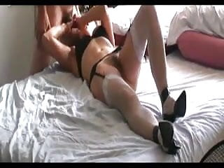 Mature wife in - Mature wife in stockings blowjob